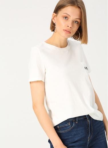Vero Moda Tişört Beyaz